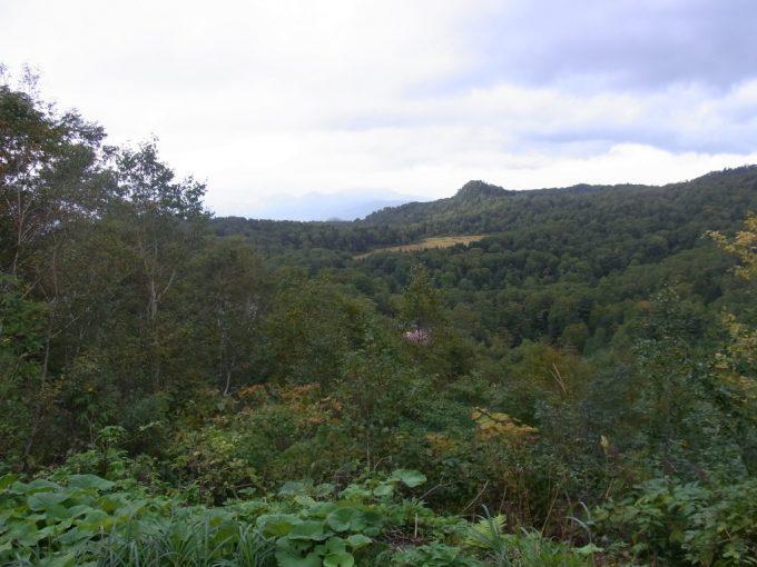 深い山に抱かれるアスピーテライン