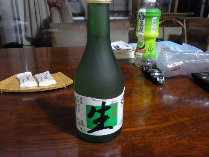 秋田八幡平秘湯ふけの湯夜のお供に秀よし純米生酒