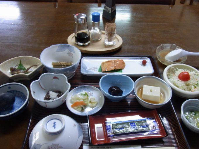 秋田八幡平ふけの湯朝食