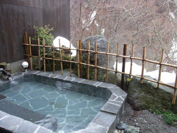秘湯甲子温泉大黒屋恵比寿の湯露天風呂
