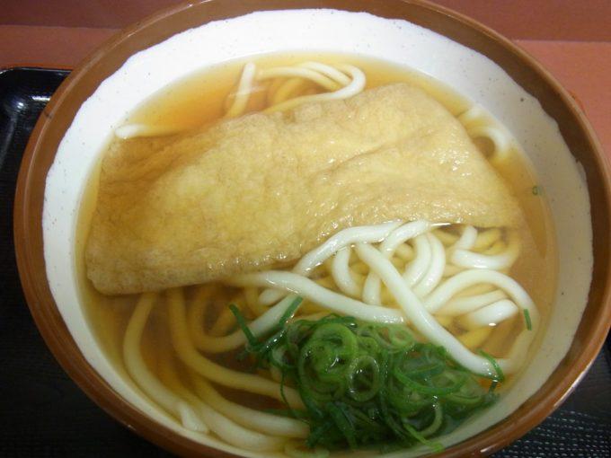大阪駅新梅田食道街潮屋きつねうどん