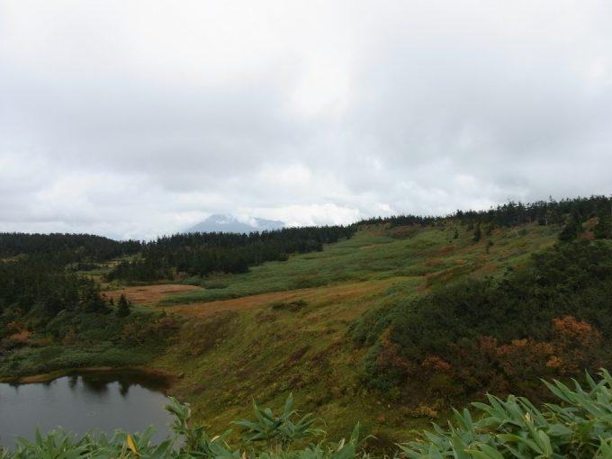 秋の八幡平草原と南部片富士岩手山