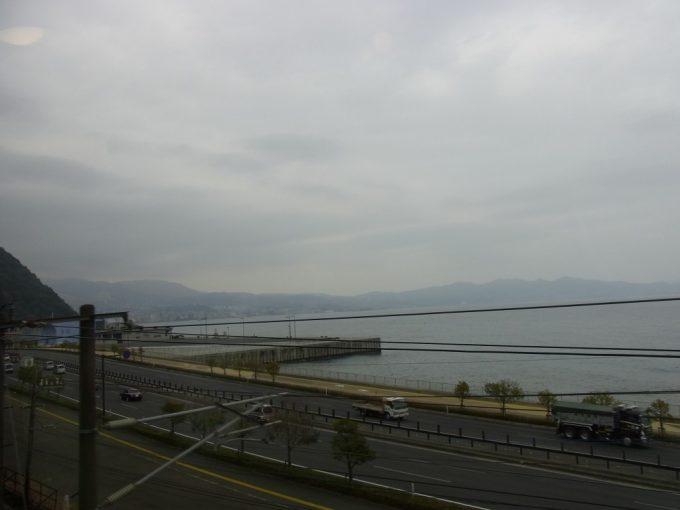 特急ゆふいんの森Ⅰ世日豊本線海の車窓