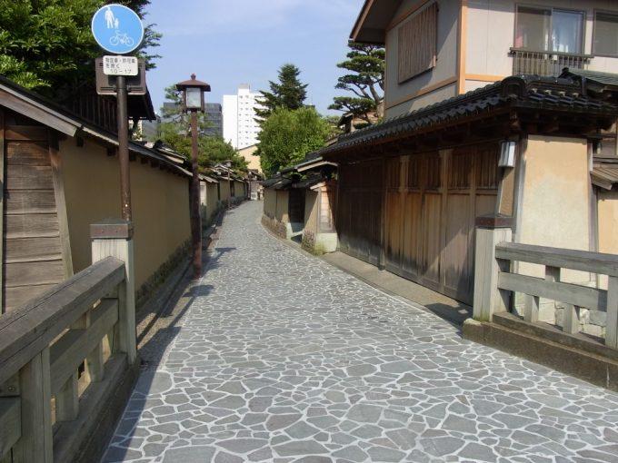 石畳の金沢長町武家屋敷跡
