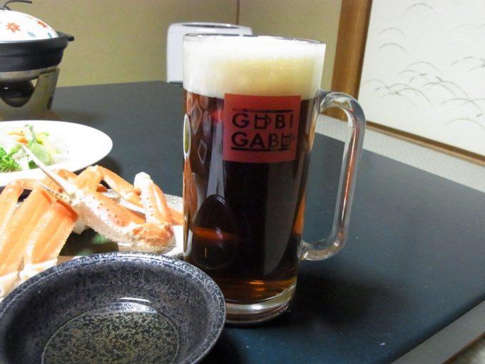 城崎温泉山本屋地ビールカニビール