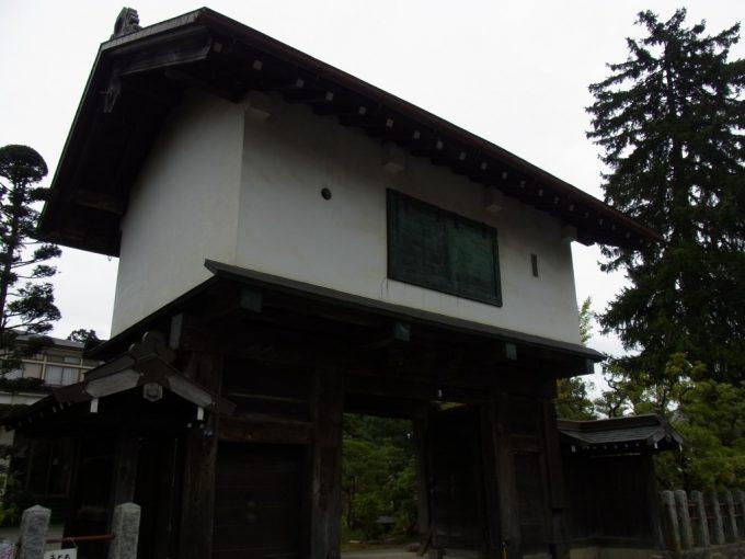 花巻城跡現存する門