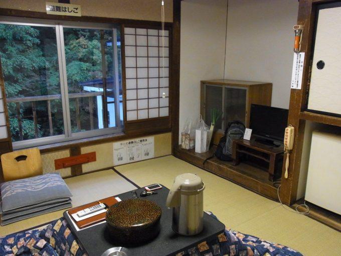 大沢温泉自炊部中舘2階客室