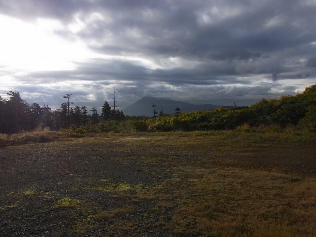 藤七温泉彩雲荘から望む南部片富士岩手山