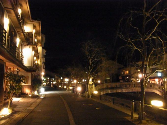 夜の外湯を楽しむ城崎温泉