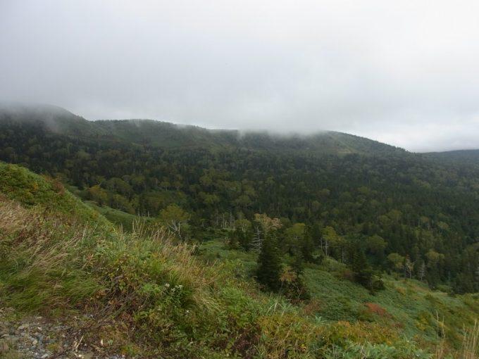 日本の背骨奥羽山脈八幡平太平洋で生まれた霧がのぼる