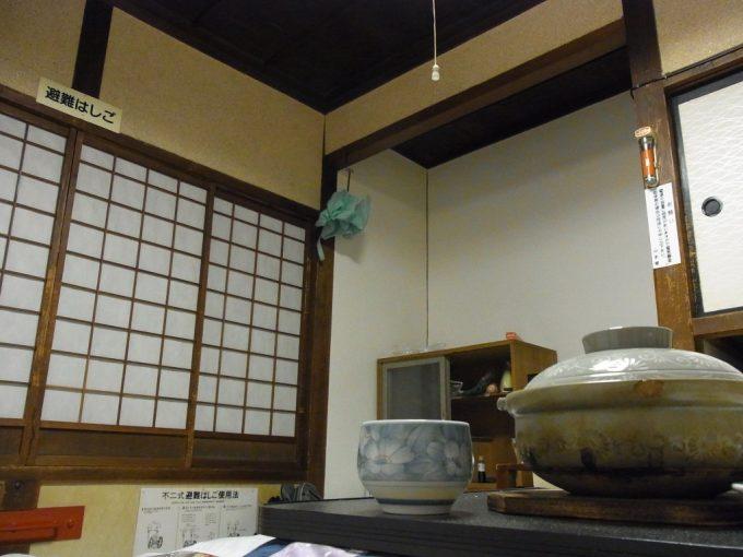 大沢温泉自炊部茶碗酒を傾ける至福の時