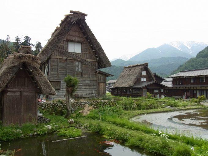 初夏の白川郷奇跡の集落