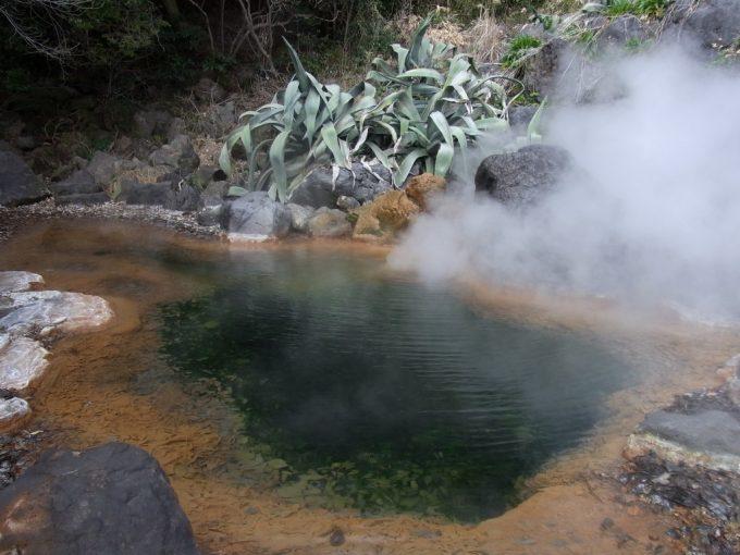 別府地獄めぐり山地獄に湧く温泉
