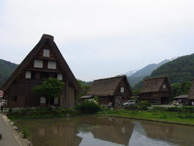 初夏の白川郷時が止まったかのような奇跡の集落