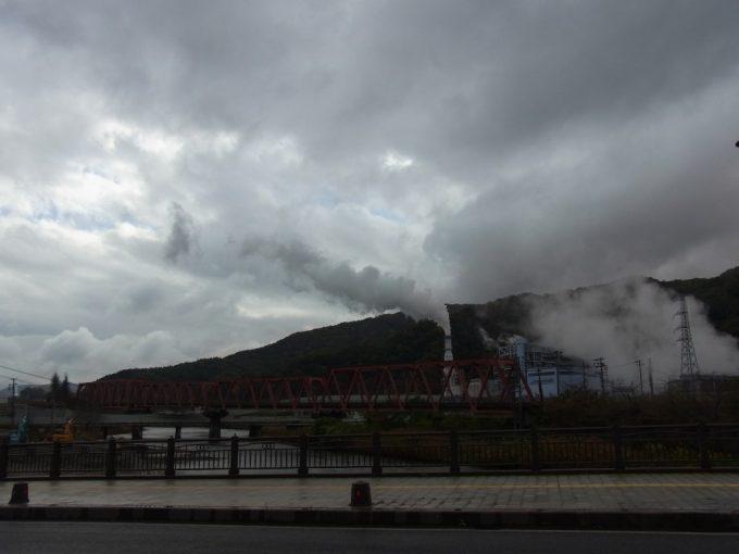 釜石の工場と引込線