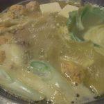 博多水炊き華味鳥中洲本店濃厚白濁鶏がらスープ