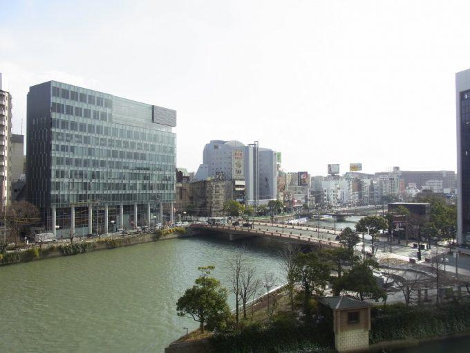 西鉄インから眺める博多の街