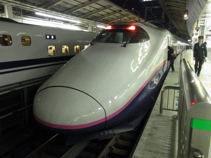 E2系はやて号東京駅到着