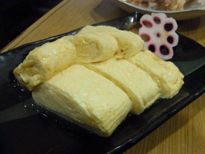 京都自然酒菜一瞬だし巻き卵