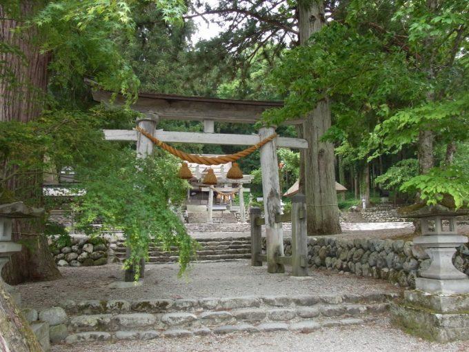 白川八幡神社鳥居