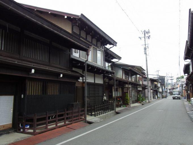 古きよき飛騨高山の街並み