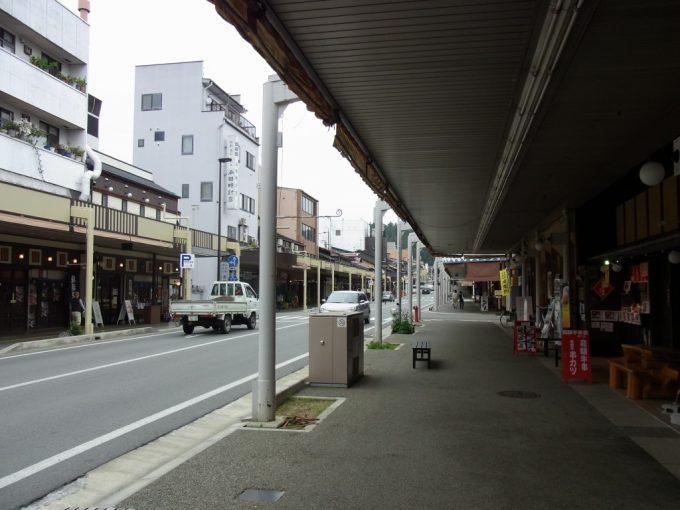 飛騨高山の商店街