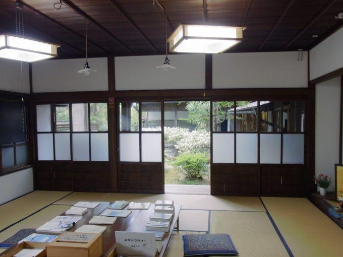 飛騨高山旧高山町役場市政記念館和室の執務室