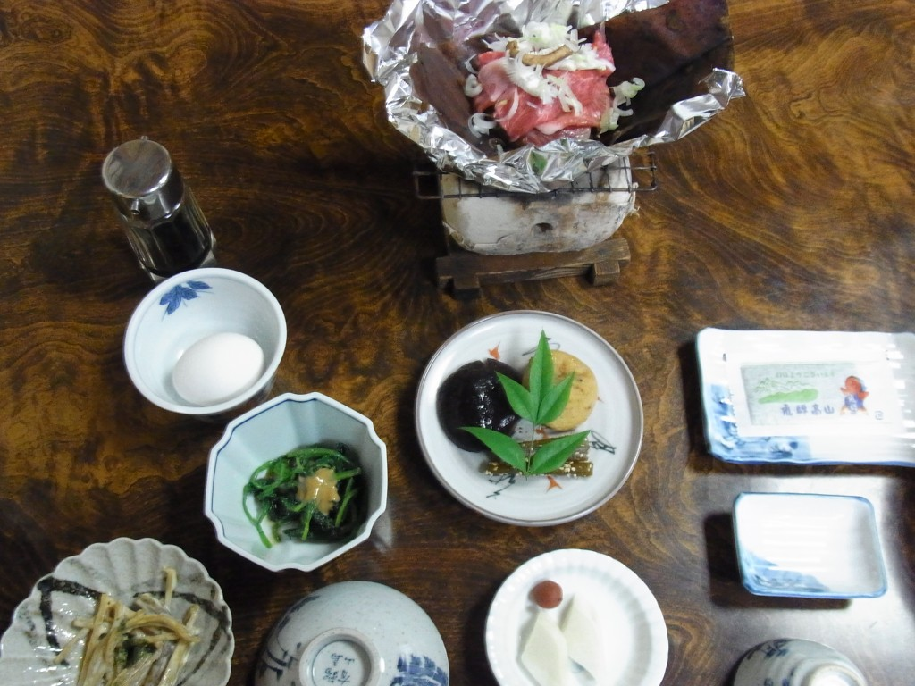 飛騨高山旅館清兵衛朝食