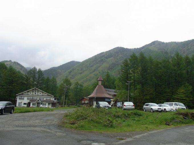 乗鞍高原初夏の雨上がり