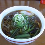 松本駅大糸線ホーム昔懐かしい立ち食いそば