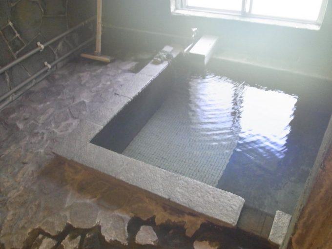 信州秘湯中房温泉大湯のサウナ