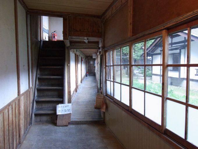信州秘湯中房温泉重要文化財の建物