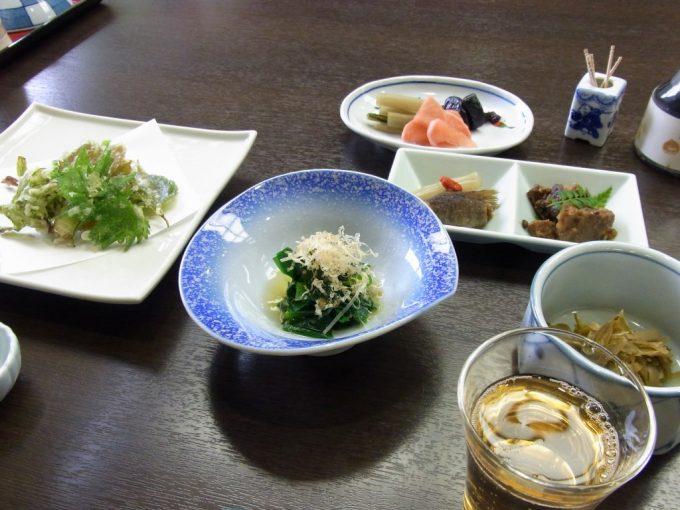 信州秘湯中房温泉夕食