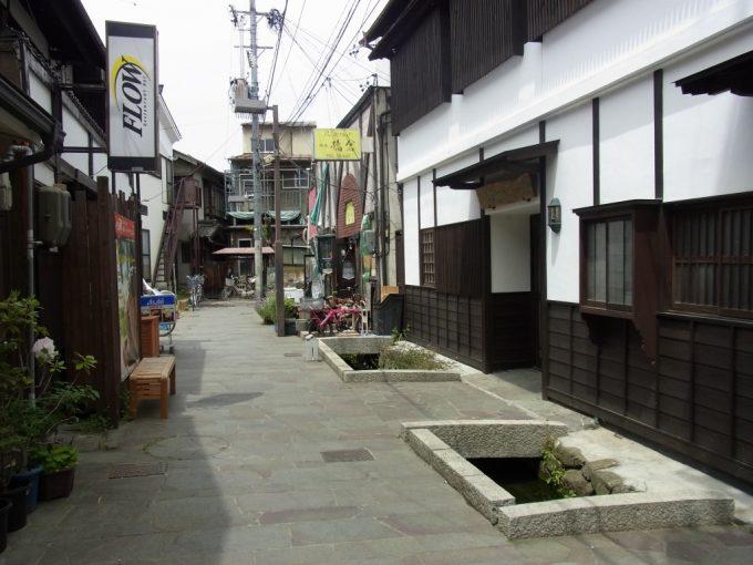 松本の路地散策