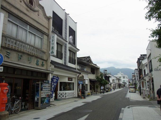 風情ある松本中町通り