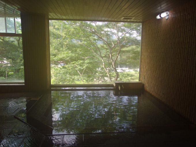 青根温泉岡崎旅館大浴場