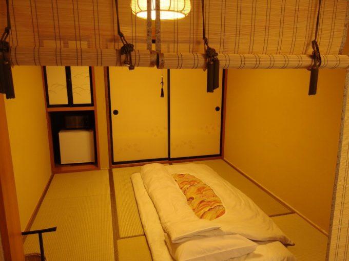 花巻台温泉中嶋旅館二間続きの客室