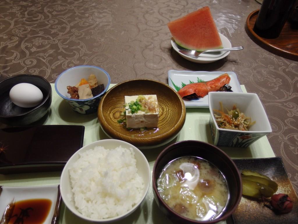 花巻台温泉中嶋旅館朝食