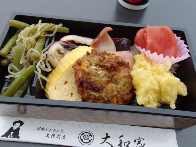 弘前駅弁いかづくし海苔弁当中身