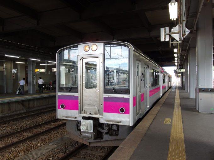 奥羽本線701系大館行き