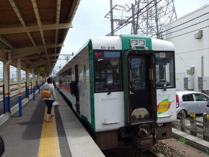 陸羽西線キハ110新庄行き