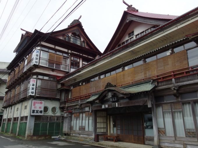山形県内最古の旅館建築瀬見温泉喜至楼