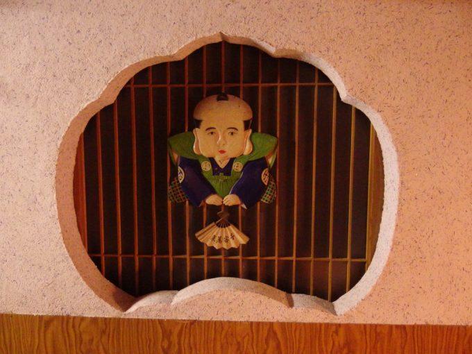 瀬見温泉喜至楼館内に点在する贅を尽くした装飾の数々