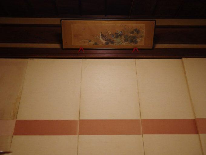 瀬見温泉喜至楼渋い和室で頂く夕食