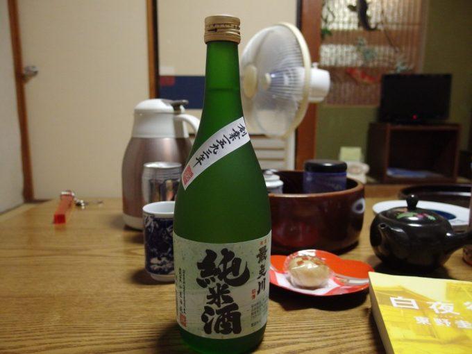 瀬見温泉夜のお供に最上川純米酒