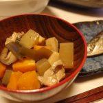 松茸と根菜ののっぺ風