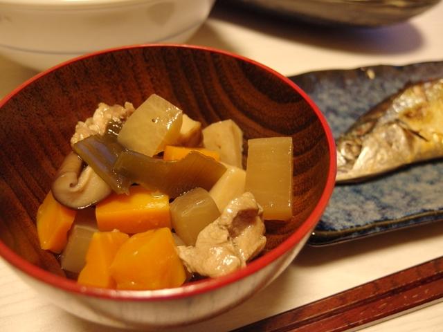 松茸と根菜とのっぺ風
