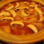 トマト味噌カレー鍋
