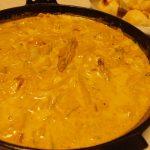 キムチ鍋リメイク!手羽中シチュー・茹で玉ねぎとコーンのサラダ