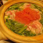 バター風味の明太味噌鍋